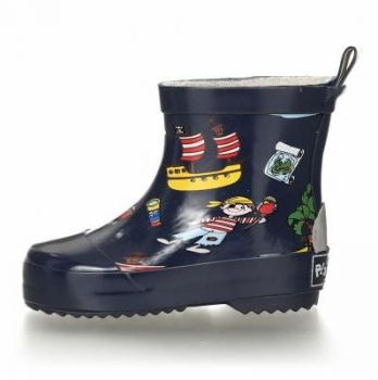 GUMMISTIEFEL ALLOVER PIRATENINSEL